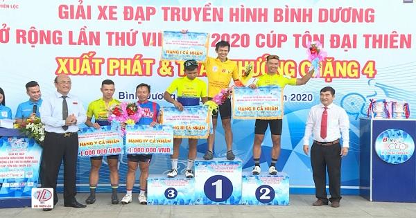 Kết quả chặng 4 Giải Xe đạp THBD Mở rộng lần VII/2020 - Cúp Tôn Đai Thiên Lộc