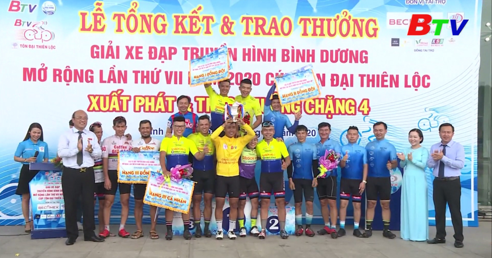 Cúp Tôn Đại Thiên Lộc - Sài Gòn Velo thâu tóm các danh hiệu