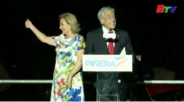 Ứng viên cánh hữu Sebastian Pinera trở thành tổng thống Chilê