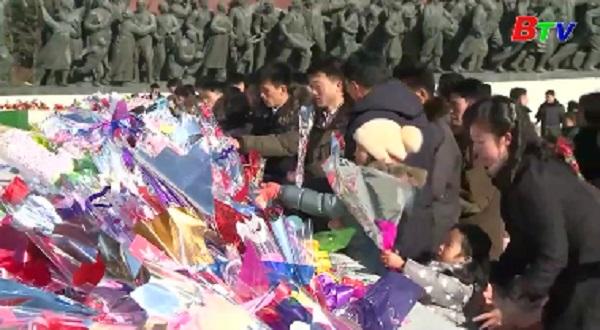 Ông Kim Jong un tuyên bố nỗ lực hết sức vì một quốc gia mạnh mẽ
