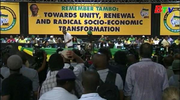 Nam Phi - Đảng cầm quyền Đại hội Dân tộc Phi bầu lãnh đạo mới