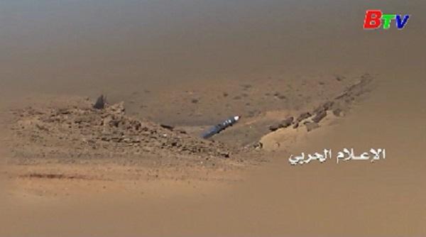 Mỹ lên án phiến quân Houthi bắn tên lửa vào Saudi Arabia