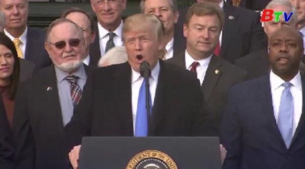 Tổng thống Mỹ hoan nghênh