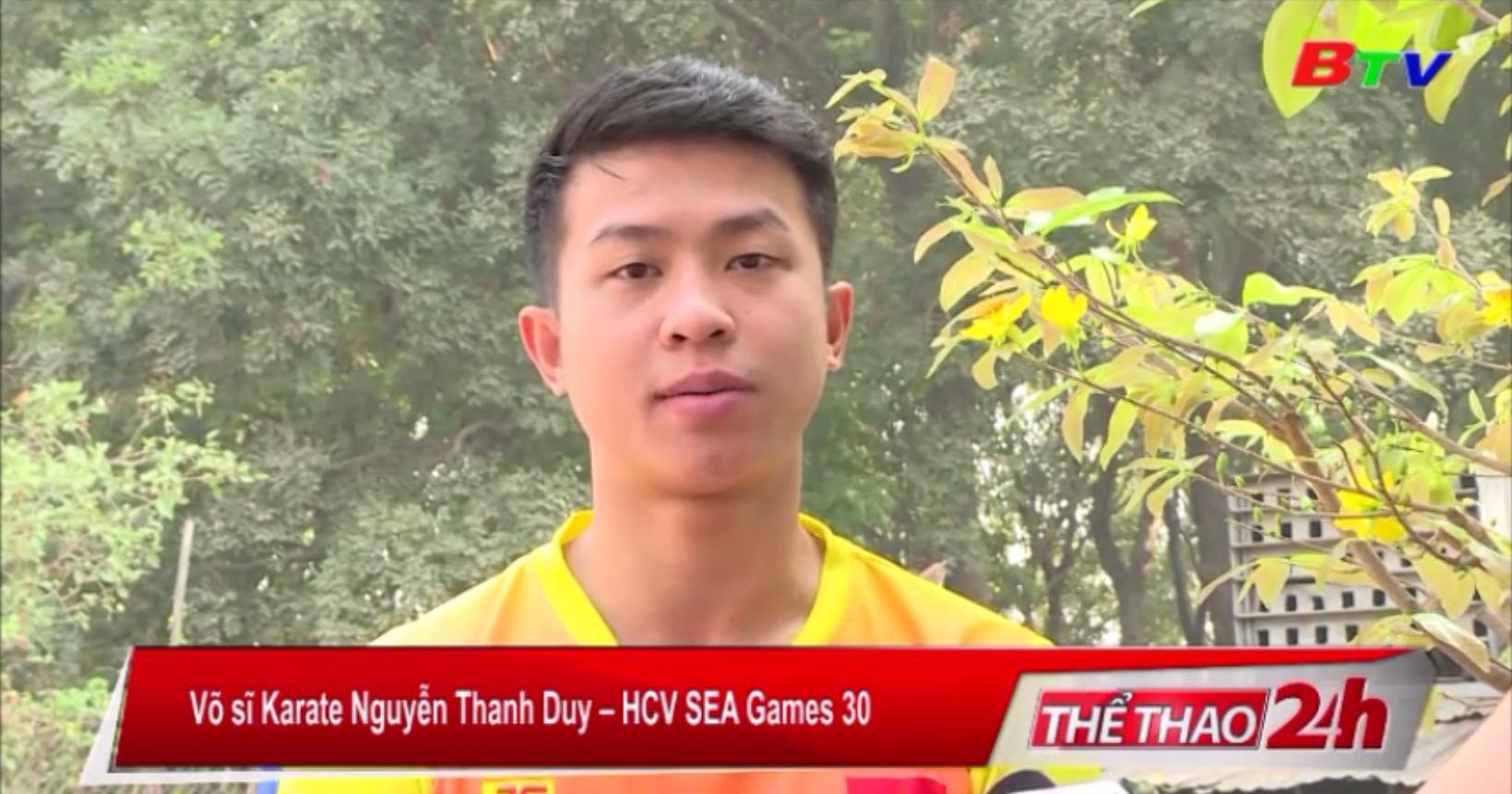 HCV SEA Games Nguyễn Thanh Duy và mục tiêu năm 2020
