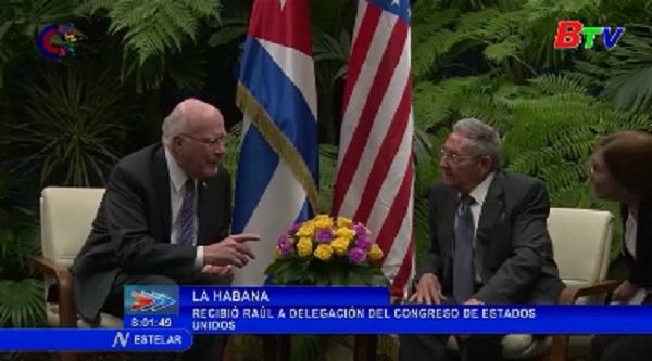 Đoàn nghị sĩ Mỹ tới Cuba