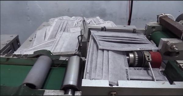 Phát hiện cơ sở sản xuất khẩu trang y tế không đảm bảo tiêu chuẩn