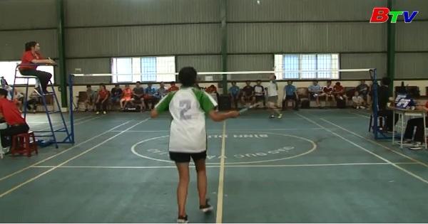 Môn cầu lông giải thể dục thể thao tỉnh Bình Dương - Đồng đều về chất lượng và chuyên môn
