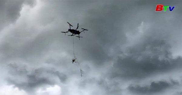 Airspace Systems khởi nghiệp bằng dịch vụ bắt máy bay không người lái