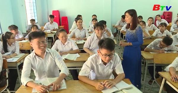 Ôn tập cho kỳ thi tuyển sinh lớp 10 ở trường THCS Lai Uyên