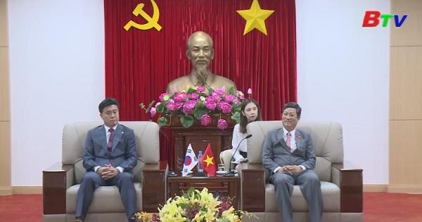 Chủ tịch HĐND tỉnh Bình Dương tiếp đoàn lãnh đạo thành phố DEAJEON - Hàn quốc