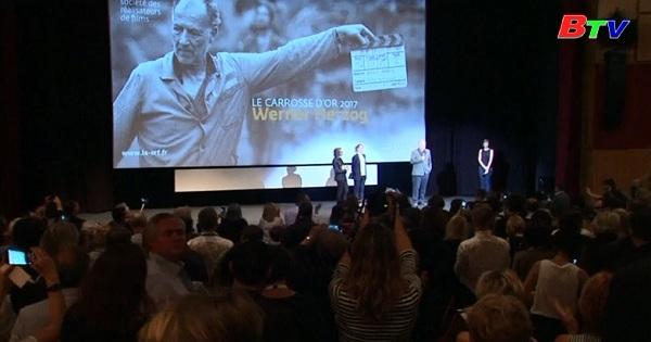 Đạo diễn người Đức Werner Herzog nhận Giải cỗ xe vàng tại LHP  Cannes