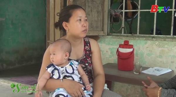 San Sẻ Yêu Thương - Hoàn cảnh chị Thái Thị Mỹ Duyên (Tổ 13, Ấp 5, xã An Thái, huyện Phú Giáo, Bình Dương)