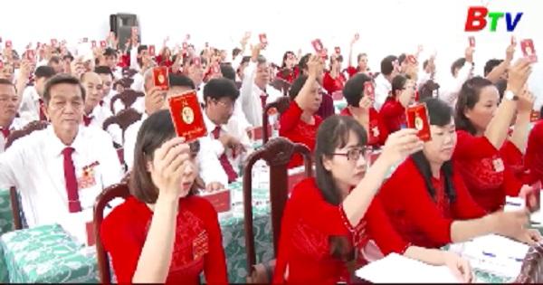 Đảng bộ xã Bình Mỹ huyện Bắc Tân Uyên đại hội đại biểu lần XII, nhiệm kỳ 2020-2025