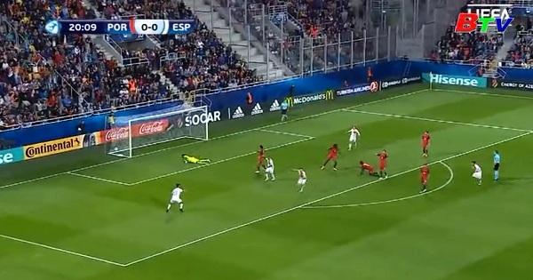 Bảng B - U21 vô địch châu Âu 2017- U21 Bồ Đào Nha 1- 3 U21 Tây Ban Nha