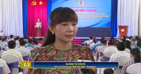 Hiệu quả từ phong trào thi đua lao động, sáng tạo ở khu công nghiệp Việt Nam - Singapore