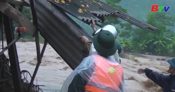 Tổng hợp tình hình thiệt hại do mưa bão