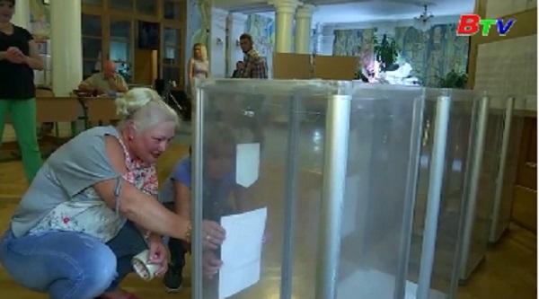 Ukraine tăng cường an ninh cho cuộc bầu cử quốc hội