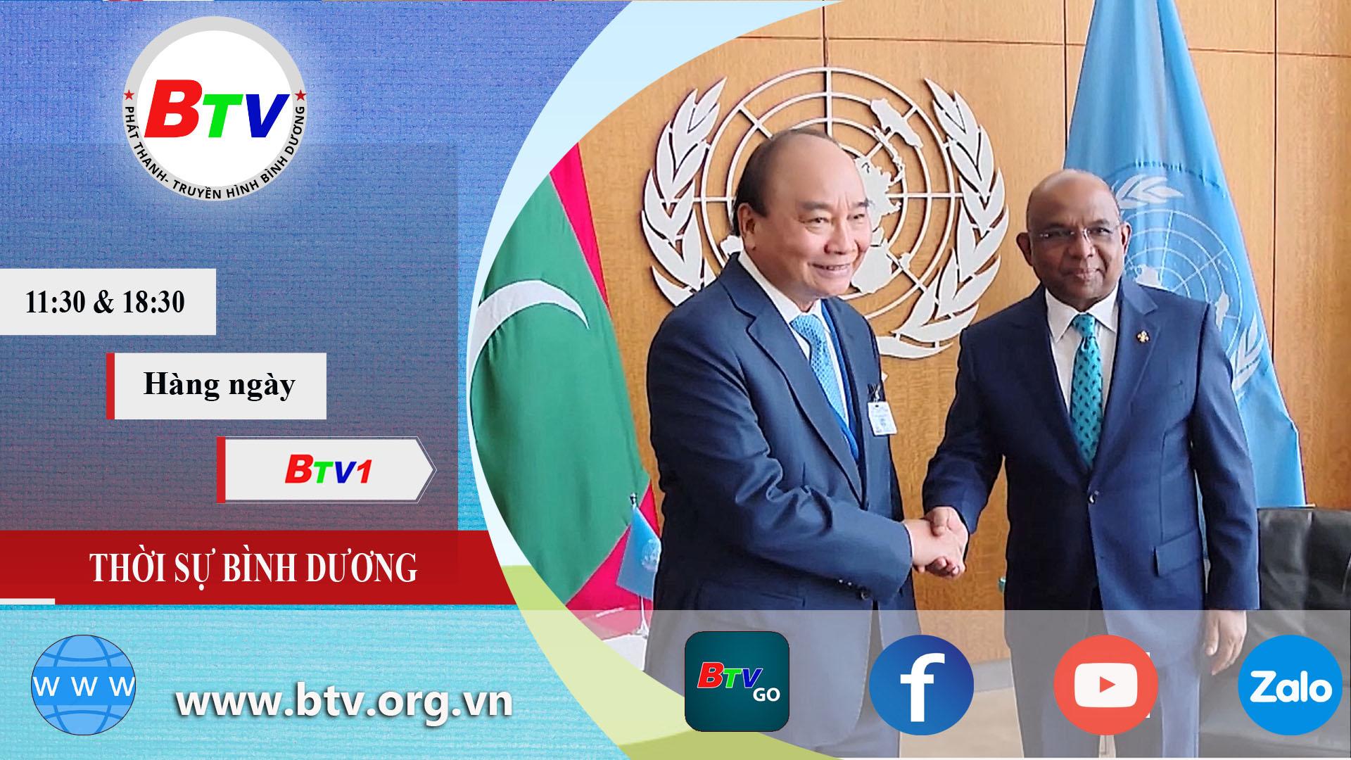 Chủ tịch nước Nguyễn Xuân Phúc hội kiến lãnh đạo LHQ
