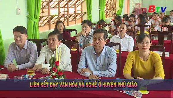 Liên kết dạy văn hóa và nghề ở huyện Phú Giáo