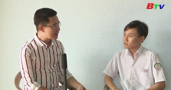 Thắp sáng ước mơ xanh - Em Nguyễn Vỹ Khang, lớp 10A8, trường THPT Phước Vĩnh, Phú Giáo, Bình Dương