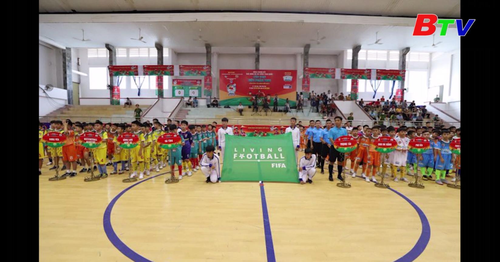 Khởi tranh Vòng chung kết Giải bóng đá Nhi đồng toàn quốc 2020