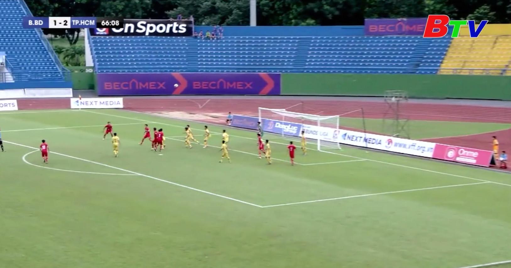 Vòng chung kết Giải bóng đá vô địch U15 Quốc gia - Next Media 2020 – Becamex Bình Dương và Sông Lam Nghệ An vào bán kết