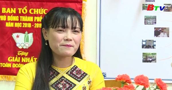 Giao lưu cô Phạm Thị Thu Thanh