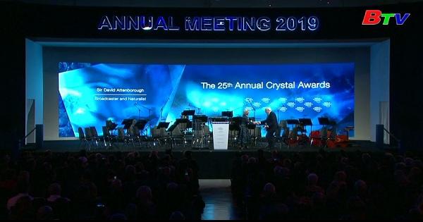 Giải thưởng CRISTAL AWARD lần thứ 25 tại diễn đàn kinh tế thế giới  Davos