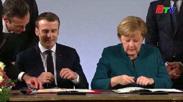 Tổng thống Đức và Pháp ký thỏa thuận hiệp ước hữu nghị mới