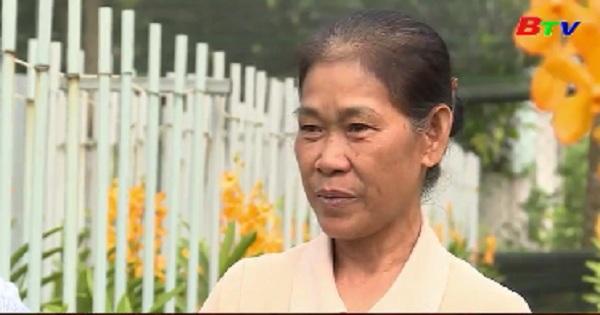 Nông dân Phú Giáo phấn khởi vụ Tết