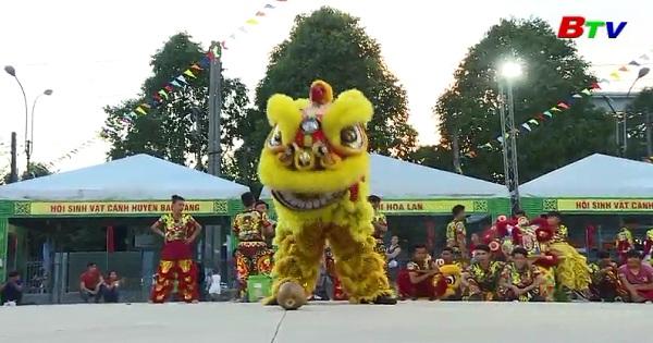 Khai mạc Liên hoan nghệ thuật Lân -Sư - Rồng tỉnh Bình Dương năm 2018
