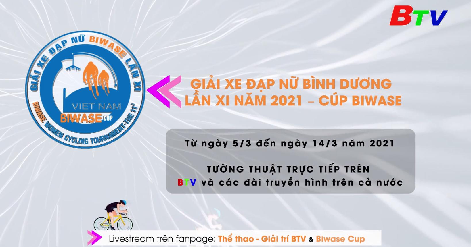 Giải Xe đạp nữ Bình Dương lần XI năm 2021 - Cúp Biwase – Sân chơi đỉnh cao, nơi tinh thần phụ nữ tỏa sáng