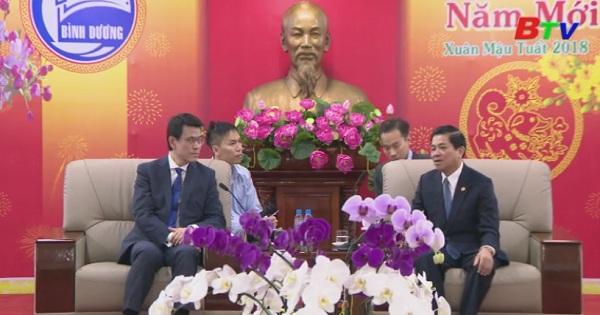 Lãnh đạo UBND tỉnh tiếp Bộ trưởng Bộ Thương mại - Phát triển kinh tế Hồng Kông