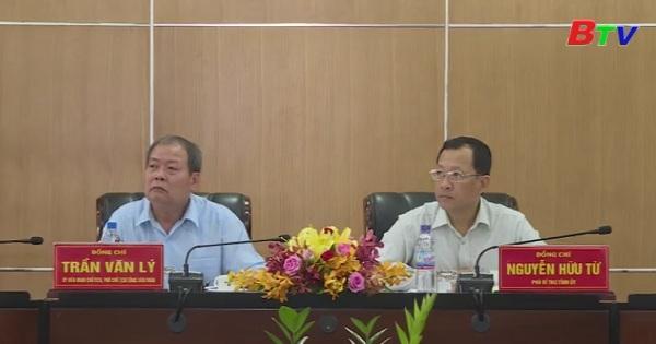 Tỉnh ủy tiếp và làm việc với Tổng Liên đoàn Lao động Việt Nam