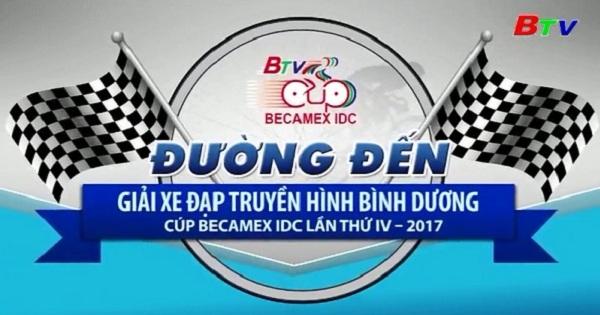 Nhật ký Giải Xe Đạp Truyền hình Bình Dương Cúp Becamex  IDC lần thứ IV năm 2017 - Kết quả chặng 1
