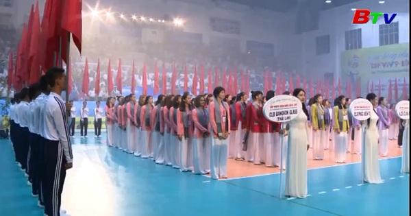Khai mạc Giải bóng chuyền nữ quốc tế cúp VTV9  - Bình Điền lần thứ 11 năm 2017
