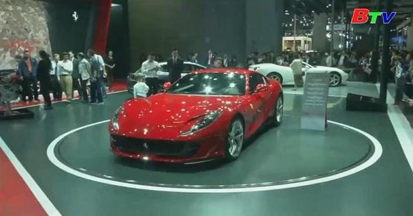 Triển lãm ô tô Thượng Hải mở cửa đón công chúng
