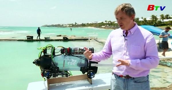 Giới thiệu Robot tự hành săn cá sư tử tại cuộc thi nấu ăn ở  Bermuda