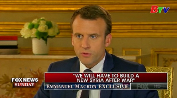 Pháp kêu gọi Mỹ không rút quân khỏi Syria