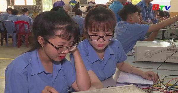Nâng cao hiệu quả tuyển sinh ớ các trường giáo dục nghề nghiệp