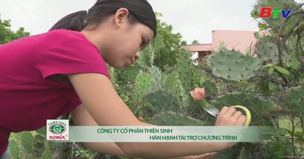 Thắp sáng ước mơ xanh - Em Nguyễn Thị Thu Trang, lớp 5D, trường tiểu học Liên Hương, thị trấn Liên Hương, Tuy Phong, Bình Thuận