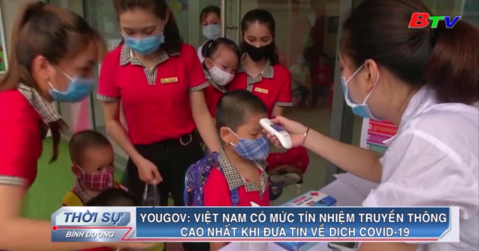 Yougov - Việt Nam có mức tín nhiệm truyền thông cao nhất khi đưa tin về dịch Covid-19