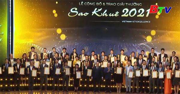 Hiệp hội Phần mềm và Dịch vụ Công nghệ thông tin Việt Nam công bố và trao Giải thưởng Sao Khuê 2021