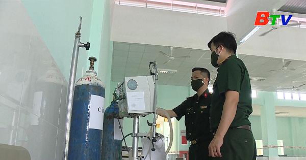 Bệnh viện dã chiến 5B chính thức hoạt động