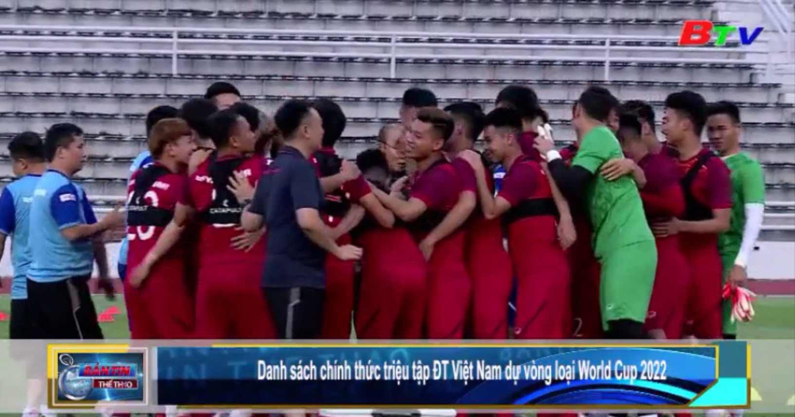 Danh sách chính thức triệu tập ĐT Việt Nam dự vòng loại World Cup 2022