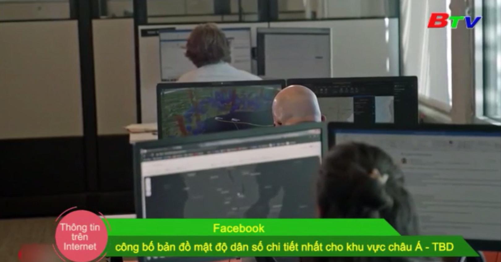 Facebook công bố bản đồ mật độ dân số chi tiết nhất cho khu vực châu Á - Thái Bình Dương