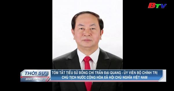 Tóm tắt tiểu sử đồng chí Trần Đại Quang - Ủy viên Bộ Chính Trị, Chủ tịch Nước CHXHCN Việt Nam
