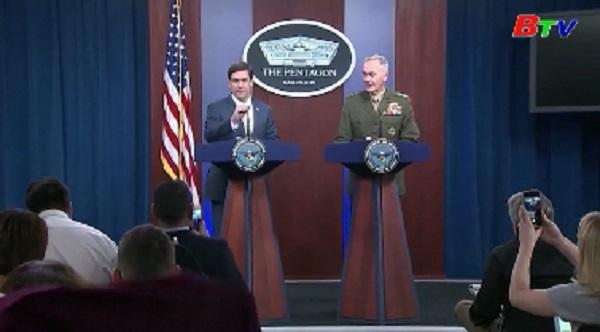 Mỹ tăng cường quân tới Trung Đông