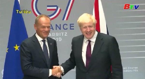 Thủ tướng Anh gặp các nhà lãnh đạo EU tại Mỹ