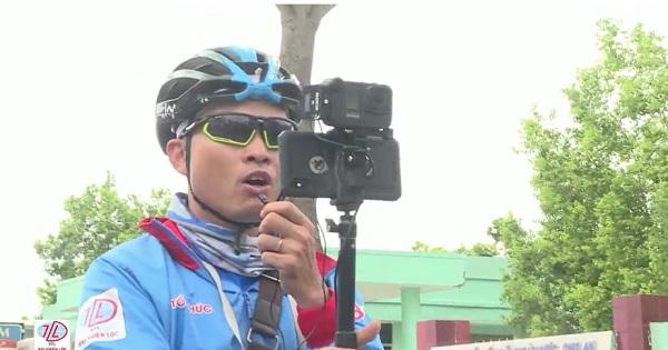 Công tác truyền thông tại Giải xe đạp THBD mở rộng Cúp Tôn Đại Thiên Lộc
